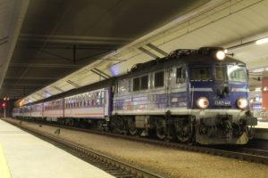 ポーランド国鉄の夜行列車