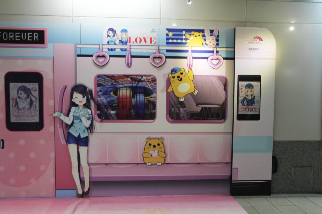 高捷少女のメインキャラクター小穹