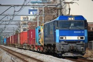 カラフルな貨物列車