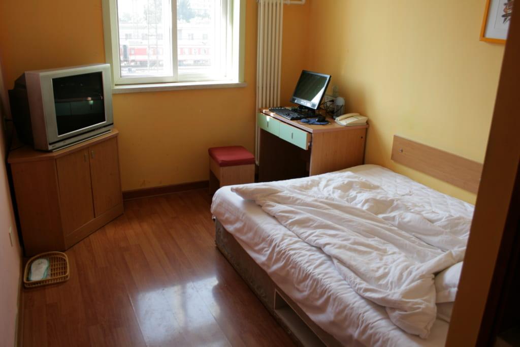 ホテルの部屋の様子。割と標準的ではないでしょうか?