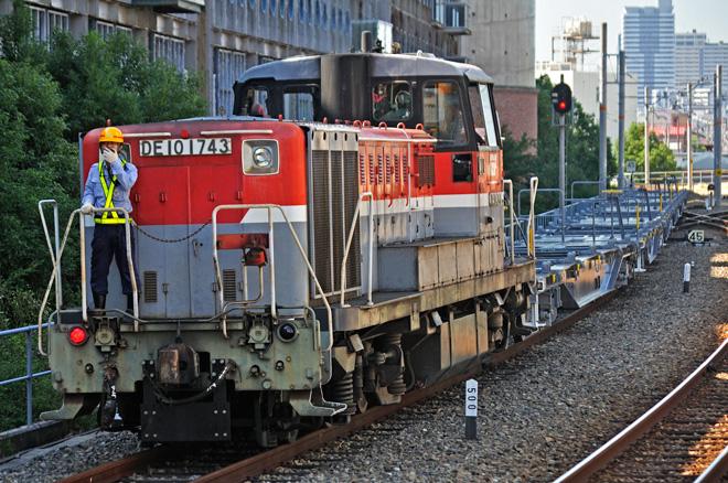 コキ107の甲種輸送