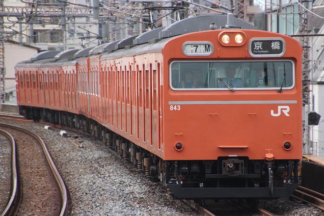 最終日の103系 撮影者:東横特急大好き