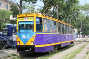 ウラジオストクの路面電車