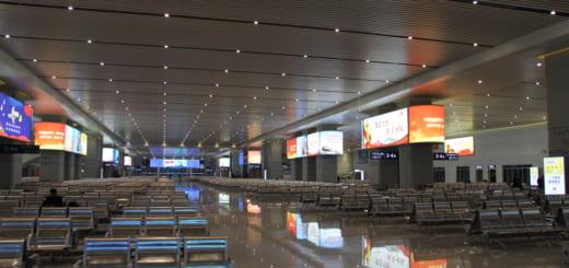 中国の巨大な駅