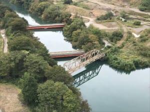 旧吾妻線のトラス橋