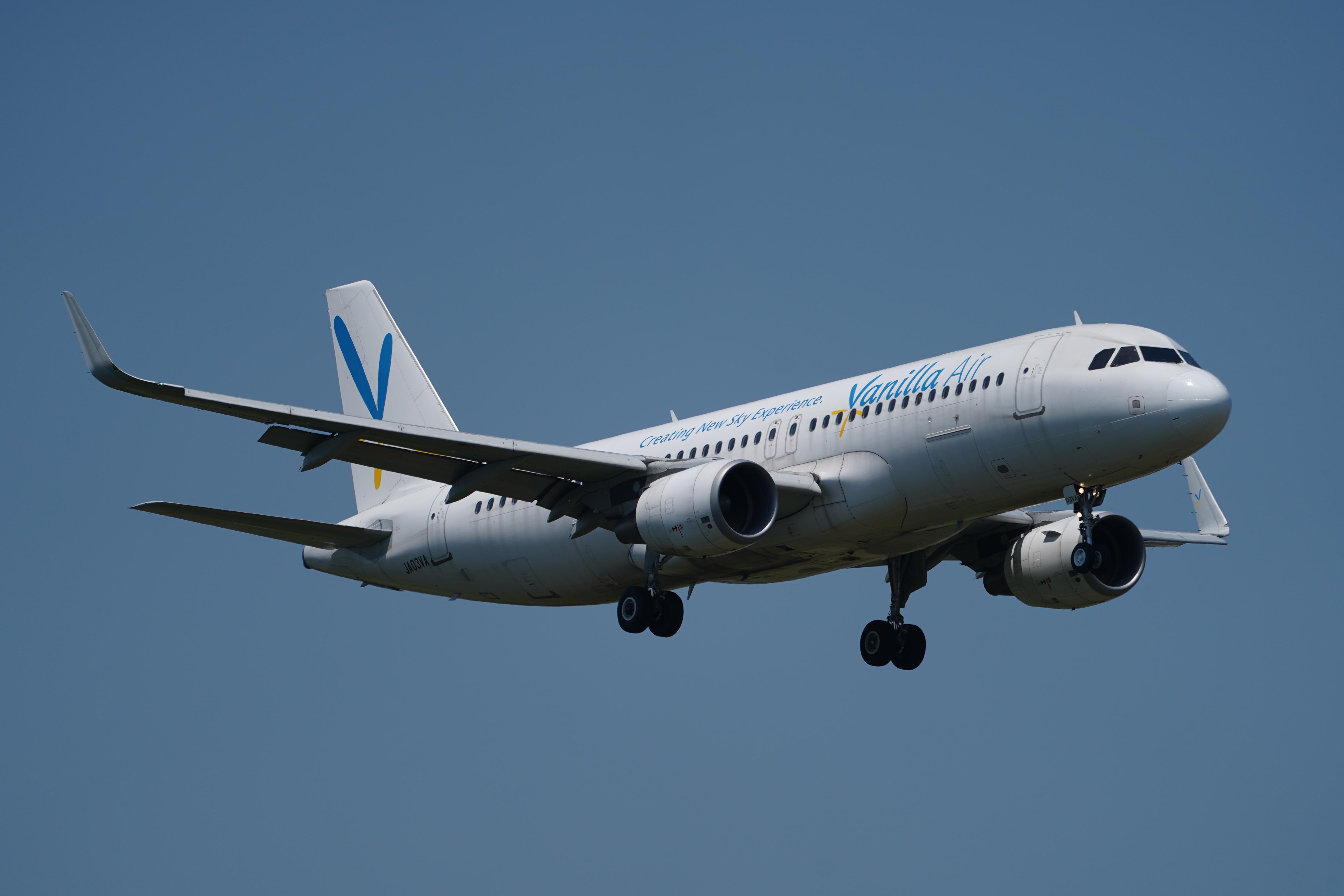 バニラエア A320 JA03VA